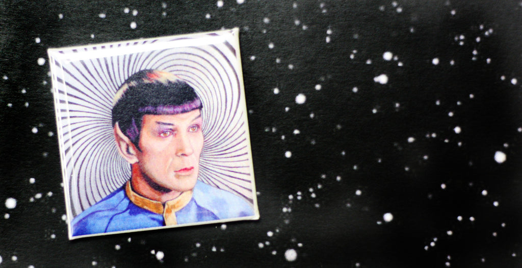 Toronto Comicon Spock buttons