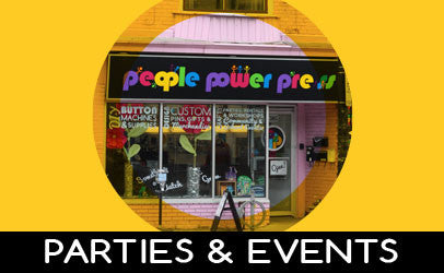 Button Making Parties and Event Services