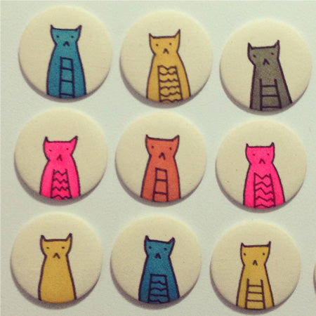 Fabric Buttons - People Power Press