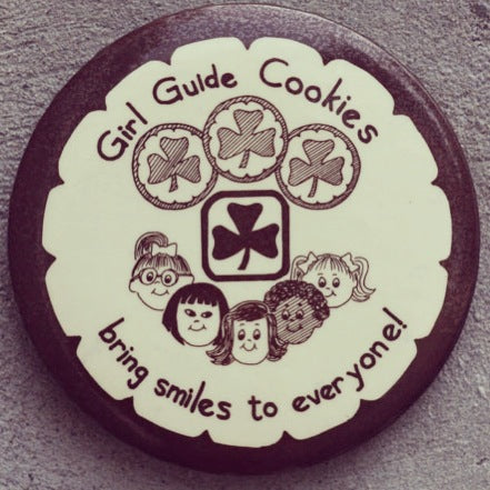 Vintage Button, Girl Guides buttons
