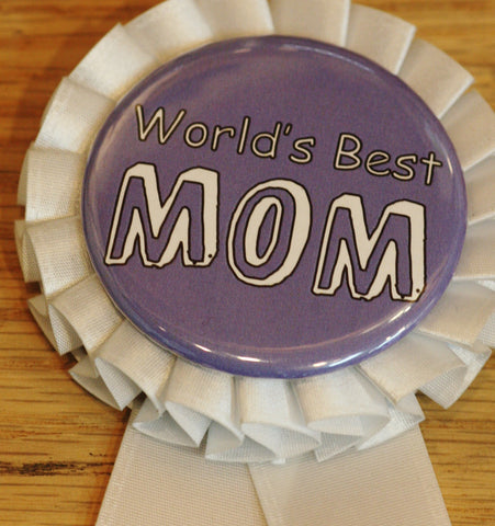 world's best mom button