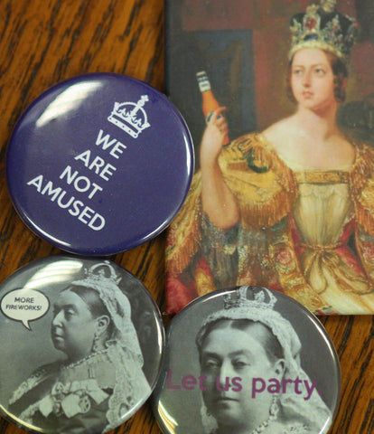 Victoria Day Buttons