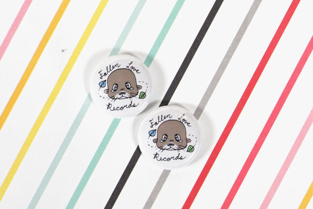 Fallen Love Records fan buttons