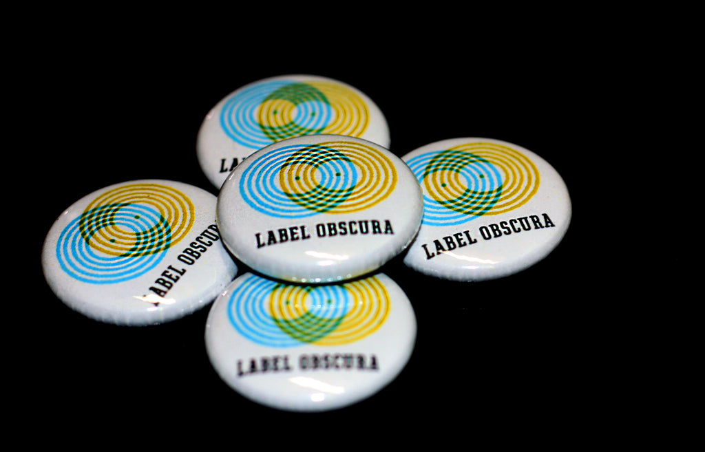 Canadian Indie Rock Buttons, Canadian Music Label Merch, Custom Pinback Buttons Toronto,