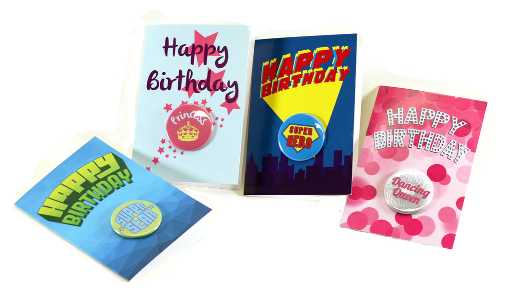 People Power Press Button Greeting Cards, Birthday Cards, Button Making Parts & Supplies,