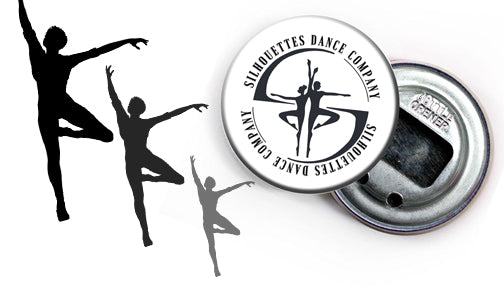 Custom Bottle Opener Silhouettes Dance Company University of Toronto