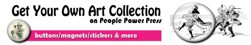 Get your own art collection on people power press to start sharing and selling your masterpieces as fun niche products