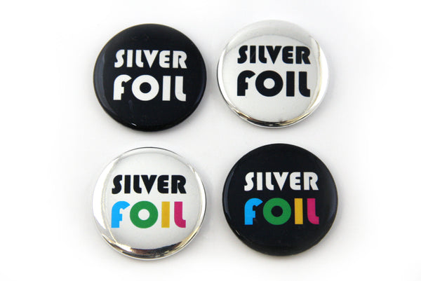 How to Make Silver Pinback Buttons with Metallic Foil