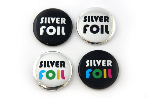 How to Make Metallic Gold and Silver Pinback Buttons Instructional Video The Button Guy