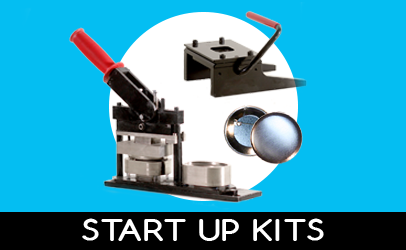 Button Machines and Supplies Starter Kits