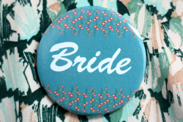 Design-Your-Own Wedding Buttons from People Power Press