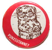 Groundhog Day Buttons
