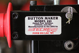 Button Maker Model Number Identification Closeup