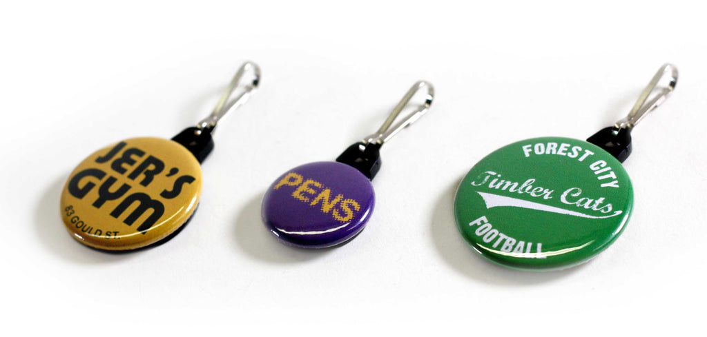 Cool For School And Lots More Zipper Pulls From People Power