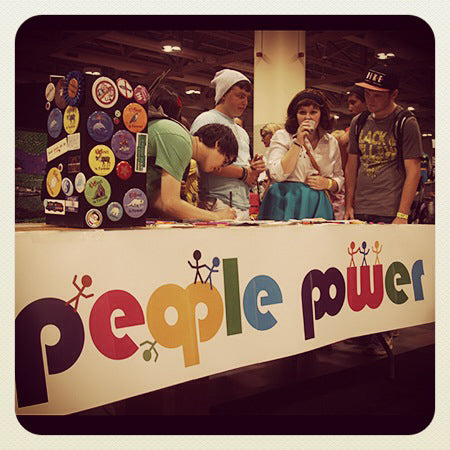 people power press, fan expo