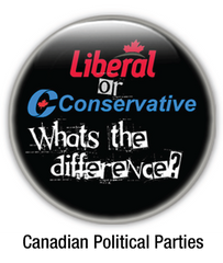 canadian political parties buttons