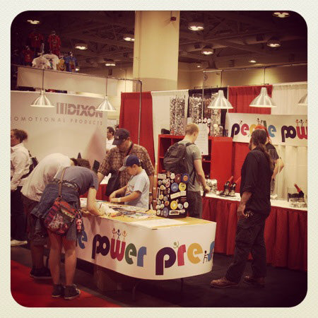 fan expo, people power press