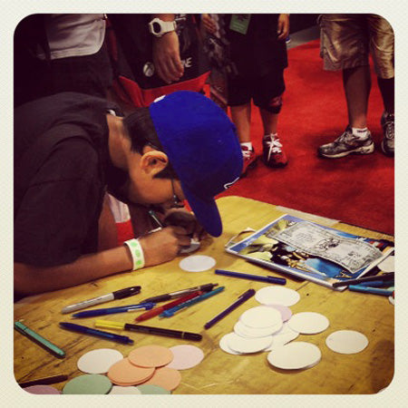 Button Making, Fan Expo
