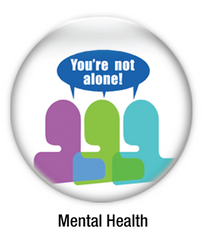mental health buttons