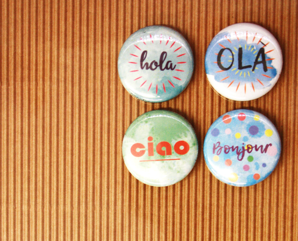 flair buttons for scrapbooking