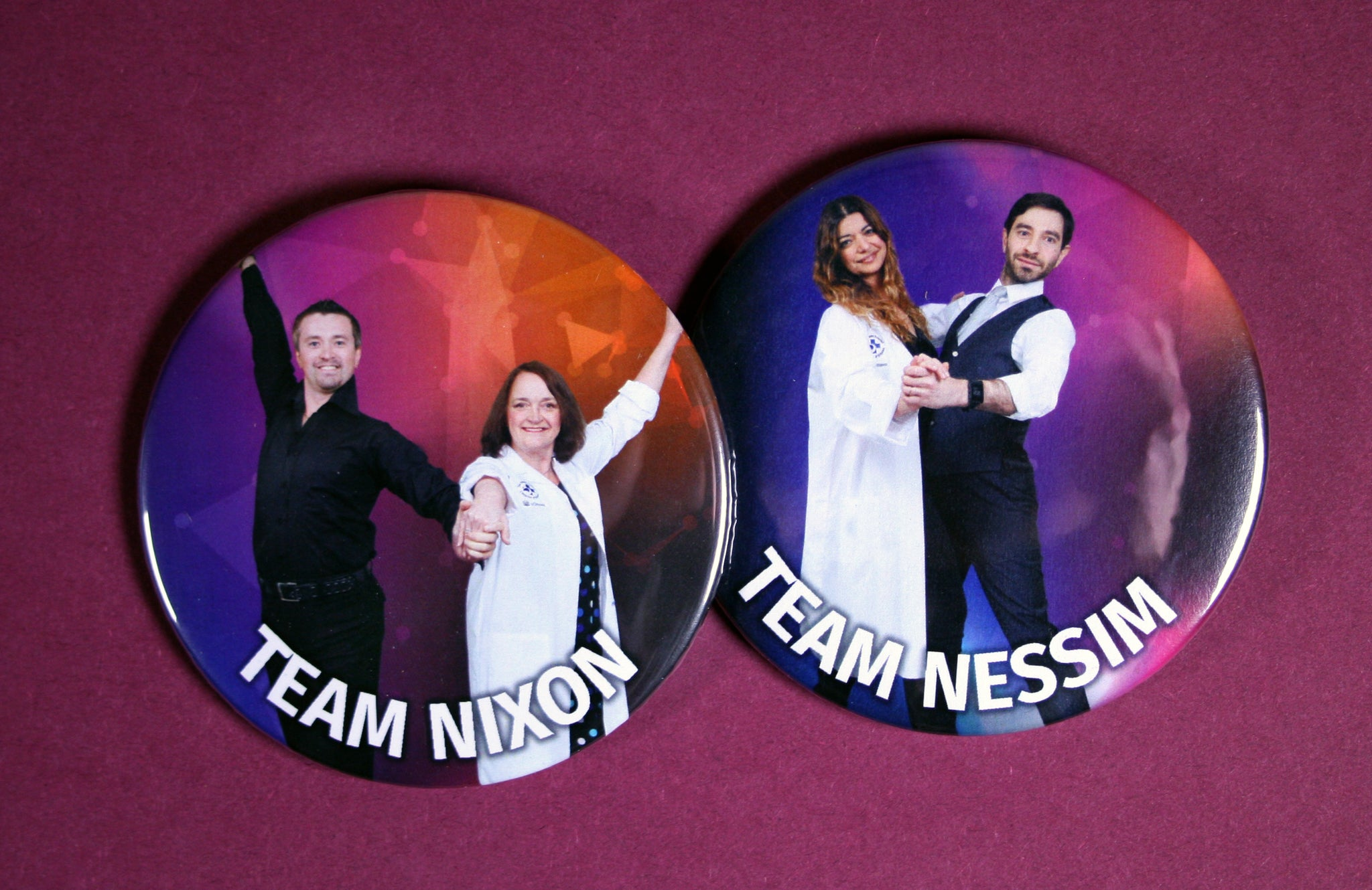 ottawa hospital gala custom fundraising buttons
