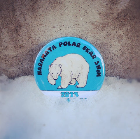 Polar Bear Swim Custom Buttons