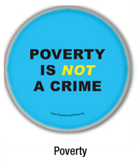 poverty buttons