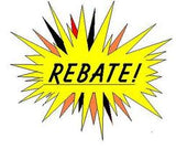 Rebate on Button machines