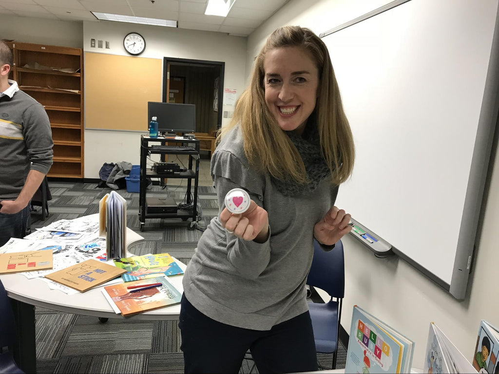 teachers button maker