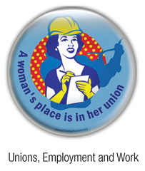 unions department and work buttons