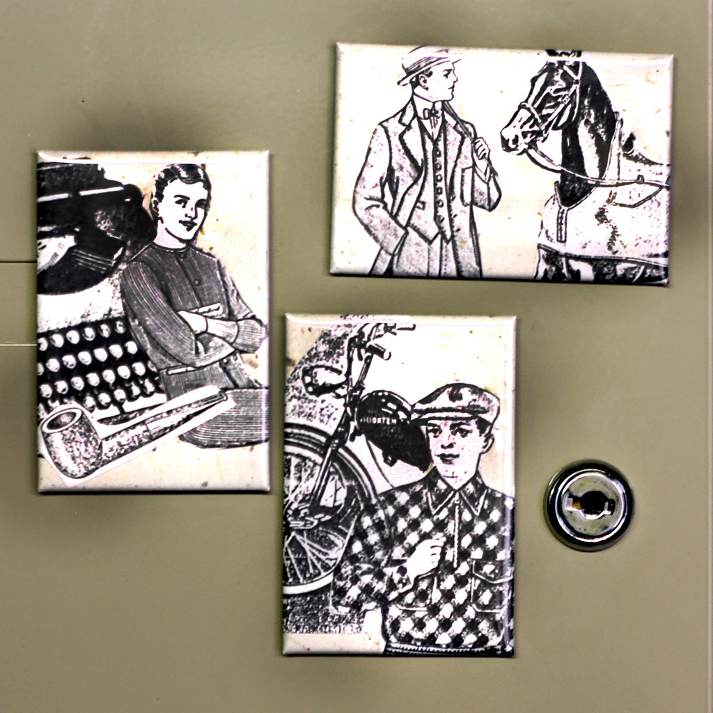 Hand Made Fridge Magnet Inspiration DIY Collage