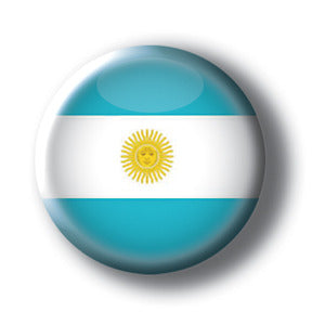 Argentina - Flags of the World Button/Magnet