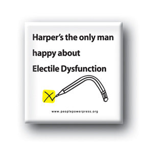 Harper's The Only Man Happy About Electile Dysfunction