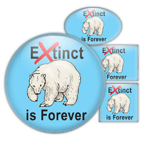 Extinct is Forever  - Polar Bear