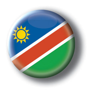 Namibia - Flags of the World Button/Magnet
