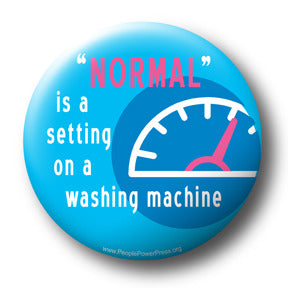 Normal - Mental Health Campaign Button