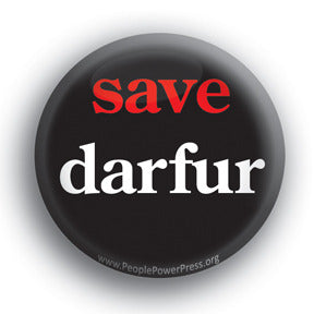 Save Darfur - Peace Button/Magnet
