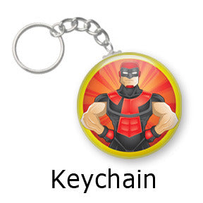 Enigma Heroized key chains by Mike Gagnon on People Power Press