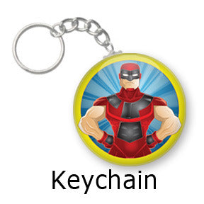Enigma Comic key chains by Mike Gagnon on People Power Press
