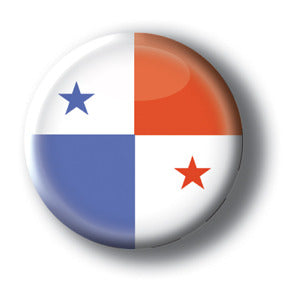 Panama - Flags of the World Button/Magnet