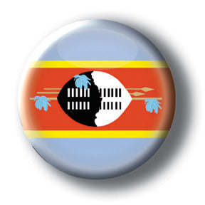 Swaziland - Flags of The World Button/Magnet