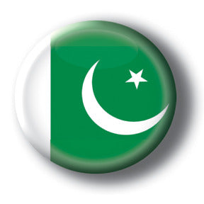 Pakistan - Flags of The World Button/Magnet
