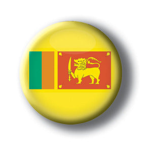 Sri Lanka - Flags of The World Button/Magnet