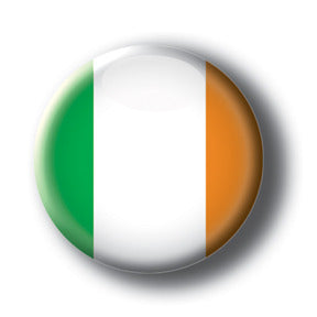 Ireland - Flags of The World Button/Magnet