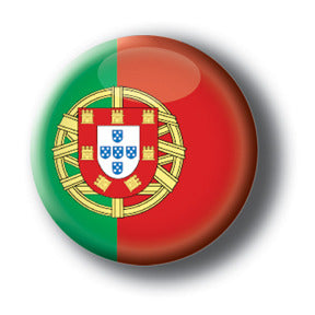Portugal - Flags of The World Button/Magnet