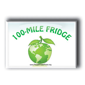 100 Mile Fridge - Buy Local Magnet/Button