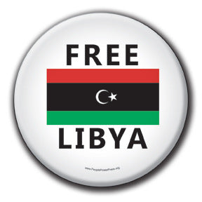 Free Libya - Fundraising Buttons