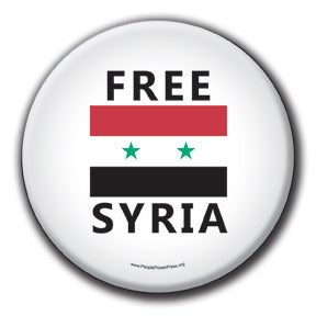 Free Syria - Fundraising Buttons