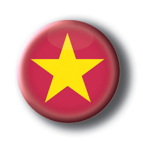 Vietnam - Flags of The World Button/Magnet