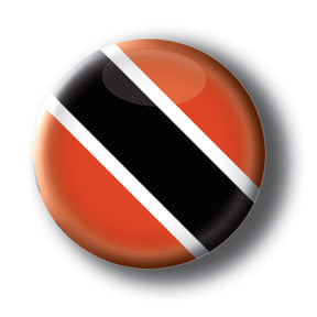 Trinidad & Tobago - Flags of The World Button/Magnet